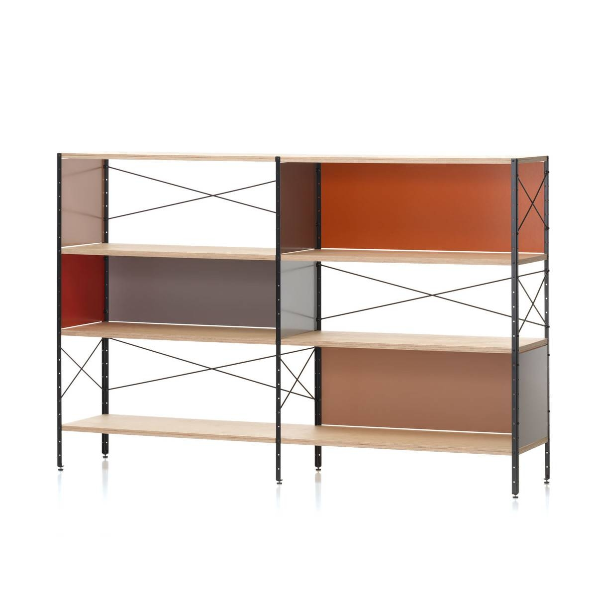 Eames Storage Unit 2 Ohvitra For Eames Sideboards (#5 of 15)