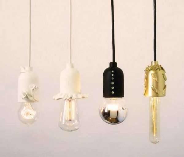 Elegant Bare Bulb Fixtures : Shine Labs Solo Pendant Pertaining To Bare Bulb Hanging Pendant Lights (#8 of 15)