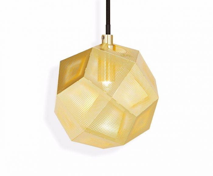 Etch Mini Pendant Brass | Pendant Lights | Tom Dixon Throughout Most Recent Tom Dixon Brass Pendants (#9 of 15)