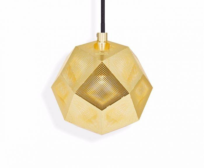 Etch Mini Pendant Brass | Pendant Lights | Tom Dixon With Regard To Best And Newest Etch Pendants (#6 of 15)