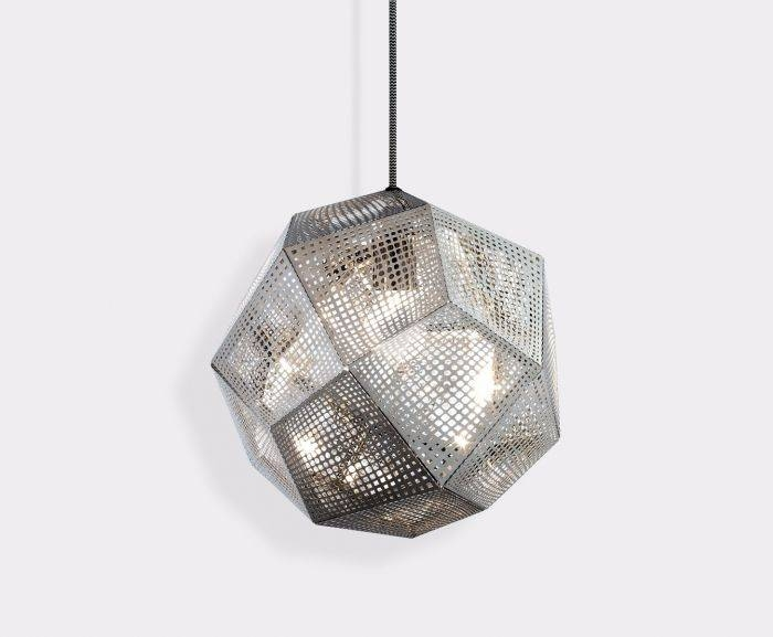 Etch Steel Pendant | Pendant Lights | Tom Dixon With Regard To Most Up To Date Etch Pendants (#9 of 15)