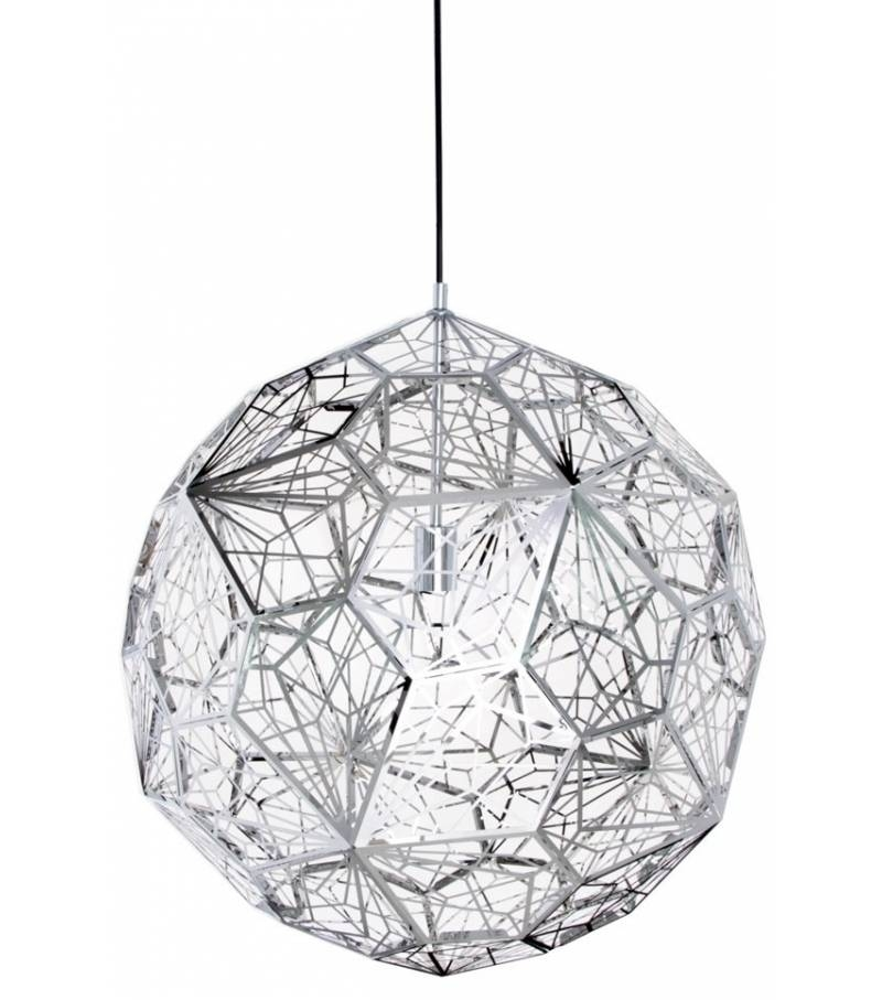 Etch Web Steel Pendant Tom Dixon – Milia Shop With 2017 Tom Dixon Etch Web Pendants (#8 of 15)
