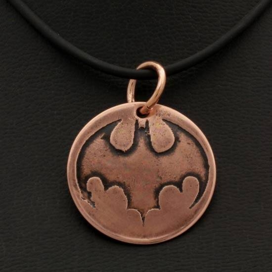Etched Pendant Batman 1 – Tom's Foolery Chainmaille Jewelry Throughout Newest Etch Pendants (#12 of 15)