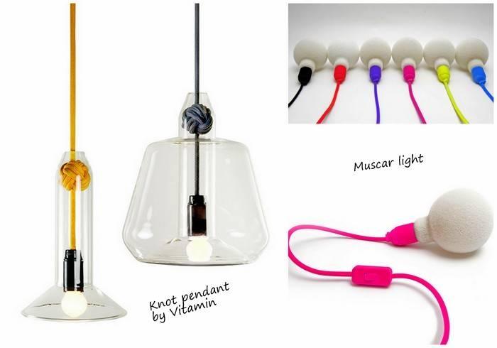 Exposed Bulb Lighting In Interiors | Design Lovers Blog Inside Bare Bulb Hanging Pendant Lights (View 4 of 15)