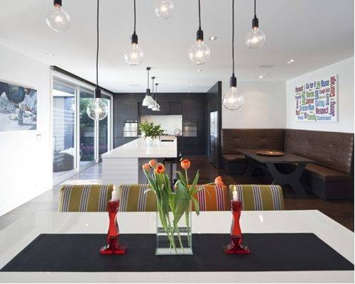 Exposed Filament Bulb Pendants | Houzz With Most Recent Bulb Pendants (#11 of 15)