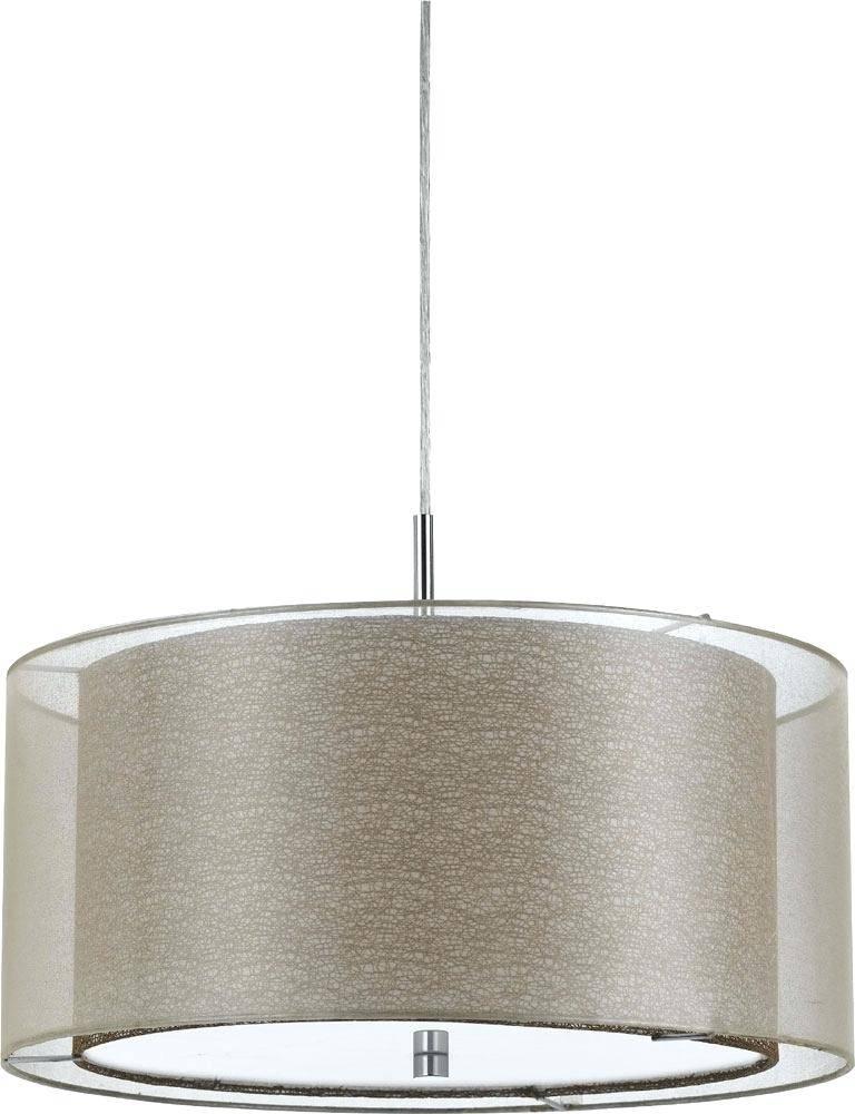 Fabric Pendant Lighting Fabric Pendant Lamp Shades – Singahills Regarding 2018 Fabric Pendant Lighting (#6 of 15)