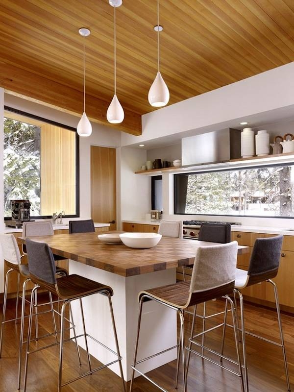 Fabulous Pendant Kitchen Lights Contemporary Pendant Lights For Pertaining To 2018 Modern Pendant Lighting For Kitchen (#4 of 15)