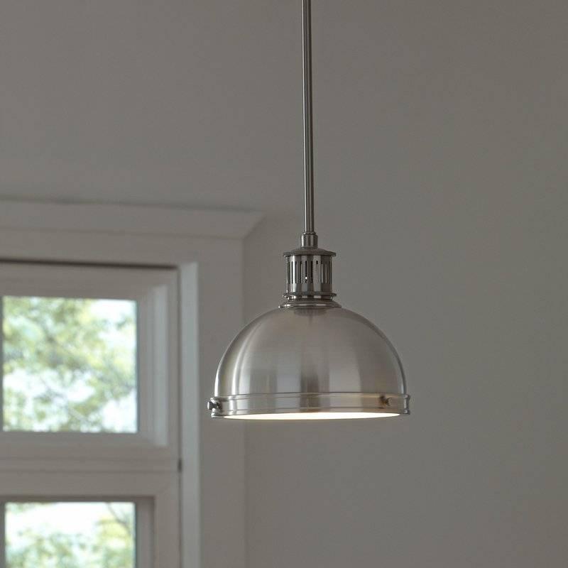 Farmhouse Pendant Lights | Birch Lane In Recent Glass Bowl Pendant Lights (#6 of 15)