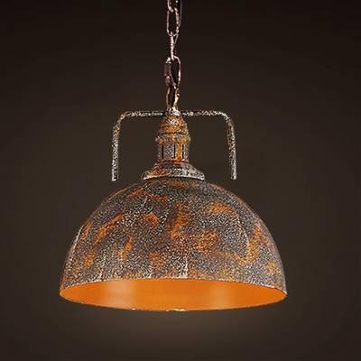 Fashion Style Pendant Lights, Orange Industrial Lighting Throughout Most Recent Orange Pendant Lights (#1 of 15)