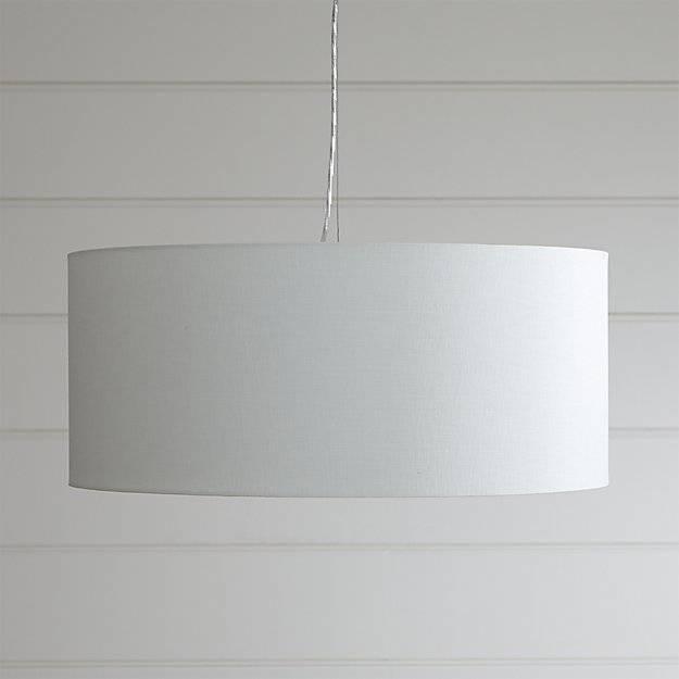Popular Photo of Large White Pendant Lights