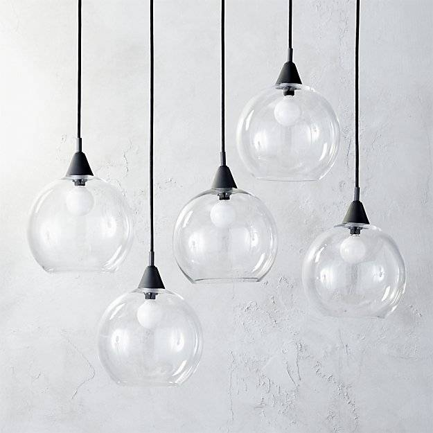 Firefly Dining Room Pendant Light | Cb2 With 2018 Multi Bulb Pendant Lights (View 7 of 15)