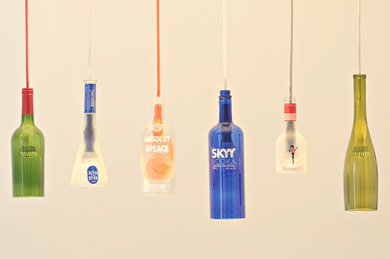 Firefly Pendant Light Kit   Upcycle That Within Wine Bottle Pendant Light (View 5 of 15)