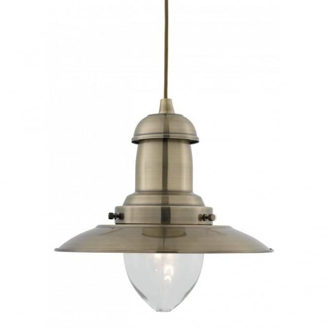 Fisherman Antique Brass Ceiling Pendant Light Pertaining To 2018 Fisherman Pendant Lights (View 14 of 15)