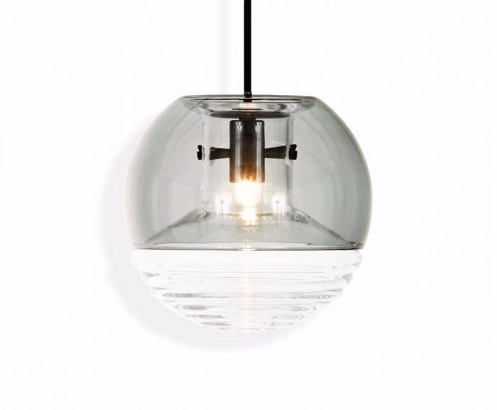 Flask Pendant Smoke Ball | Pendant Lights | Tom Dixon In Most Recent Tom Dixon Glass Pendants (#5 of 15)