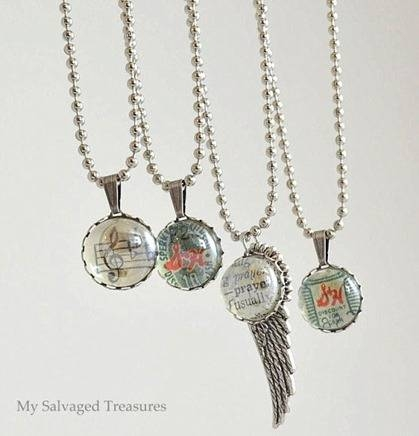 Flat Back Marble Jewelry Pendants – My Repurposed Life® In Most Up To Date Marble Pendants (#9 of 15)