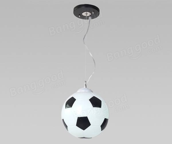 Inspiration About Football Bedroom Chandelier Hanging Pendant Lamp Ceiling Pertaining To Newest Lights