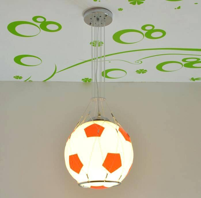 Football Pendant Light Shade Hanging Font Lustre Lights – Runsafe In Recent Football Pendant Lights (#10 of 15)