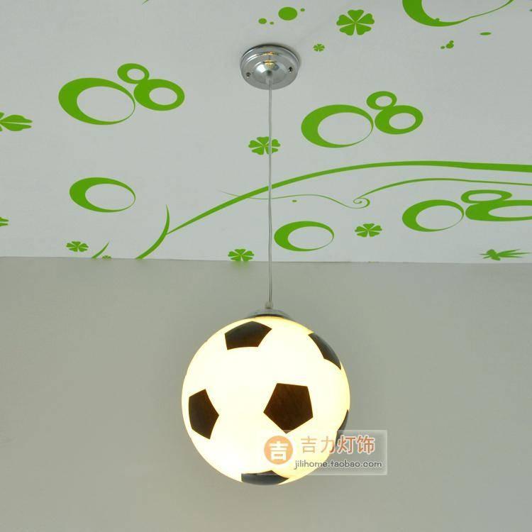 Football Pendant Light Shade Hanging Font Lustre Lights – Runsafe Regarding Most Current Football Pendant Lights (View 13 of 15)