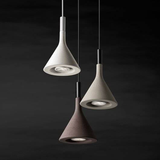 Foscarini  Foscarini Aplomb Mini Pendant|Pendants| Darklight For Newest Foscarini Pendants (#7 of 15)