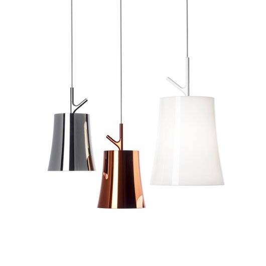 Foscarini  Foscarini Birdie Pendant|Pendants| Darklight Design In Most Popular Foscarini Pendants (#9 of 15)