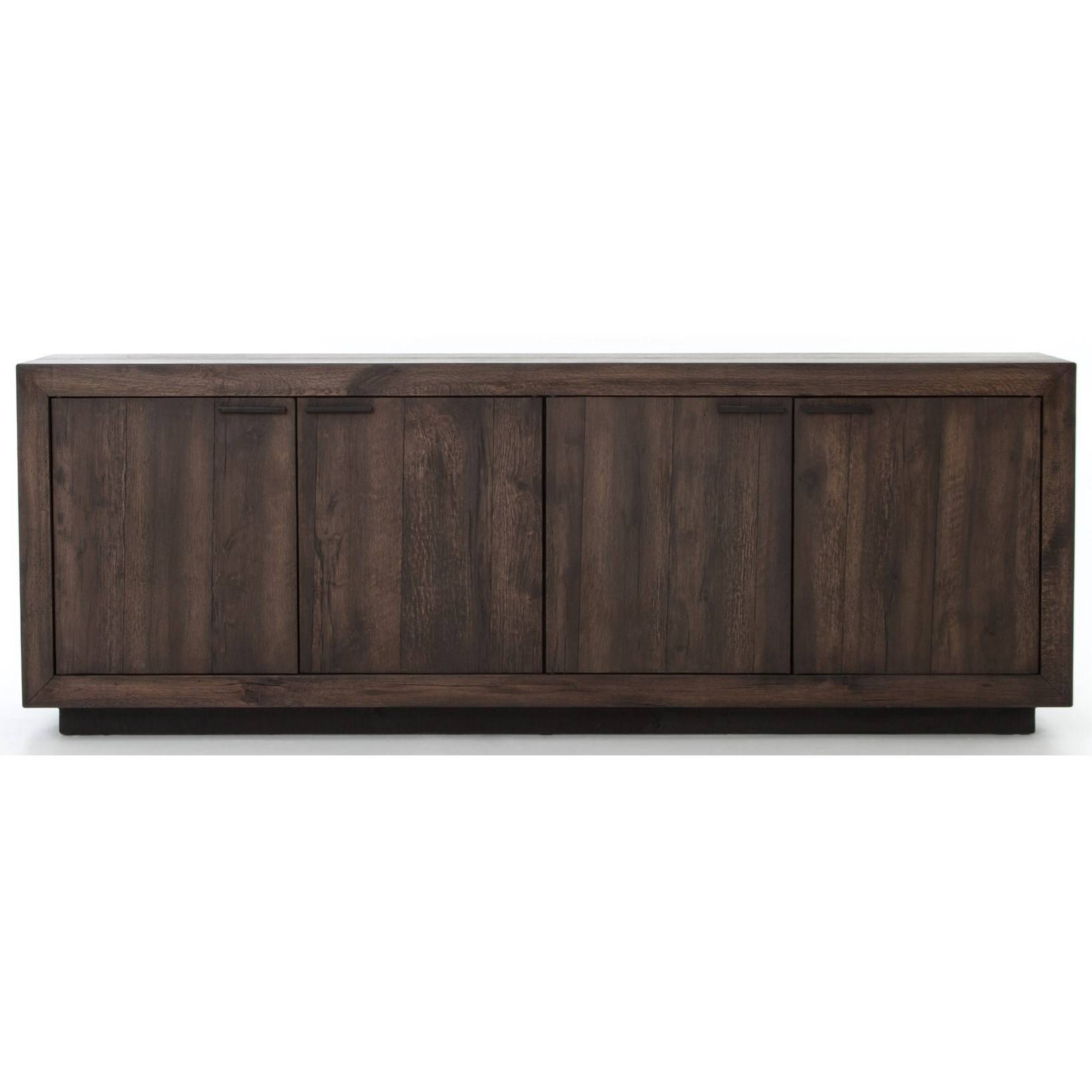 Four Hands Wesson Couric Four Door Sideboard – Belfort Furniture In Four Hands Sideboards (#3 of 15)