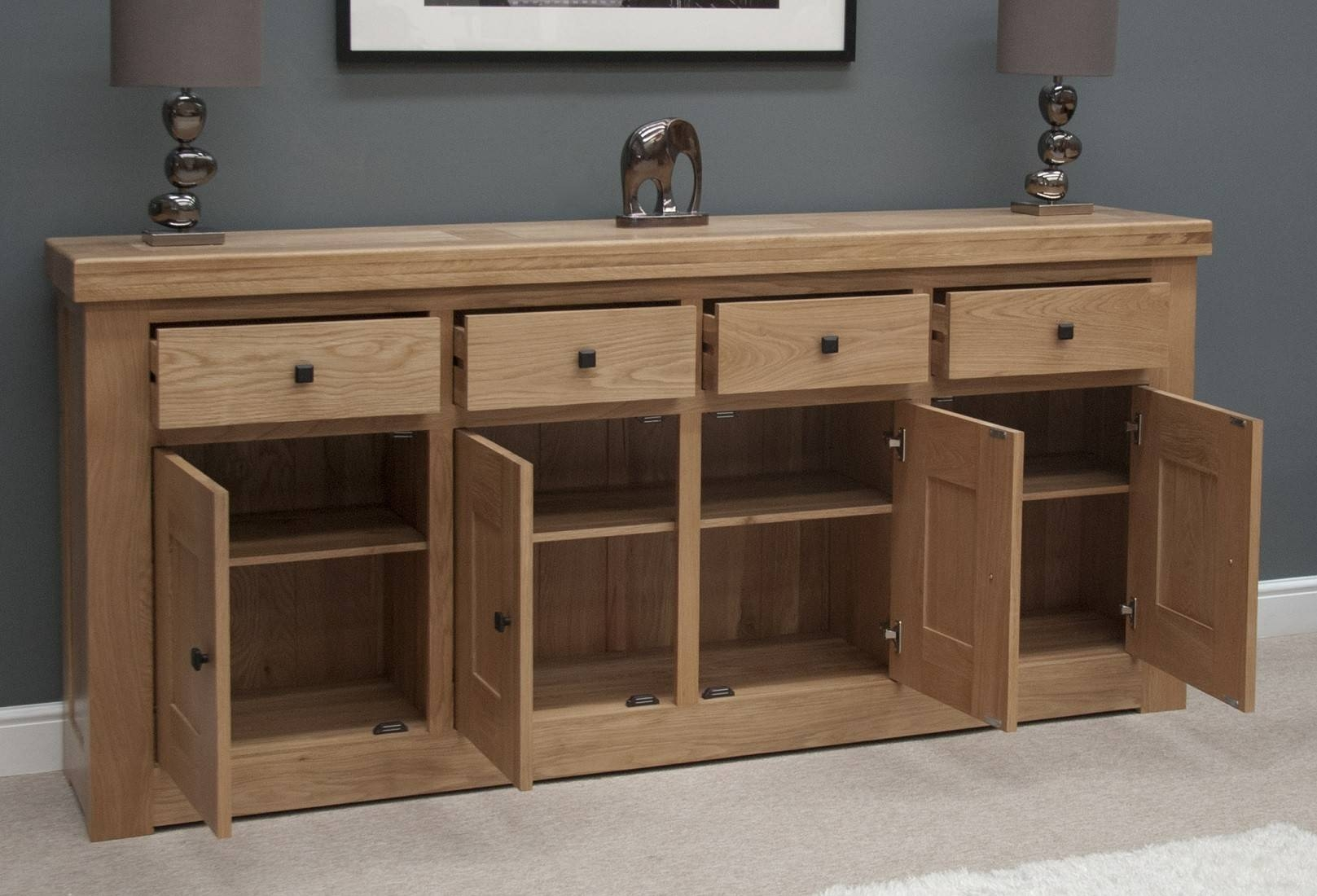 Oak sideboards for