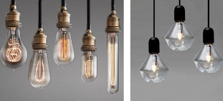 Fresh Interiors Blog With Industrial Bare Bulb Pendant Lights (#7 of 15)