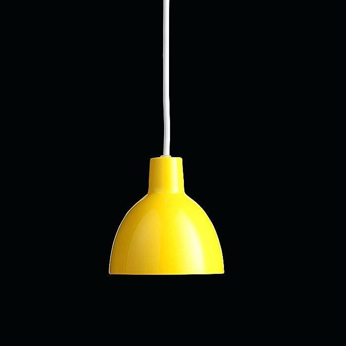 Funk Ceiling Pendant Light Suspension Yellow Lights Living Uk Intended For Most Current Yellow Pendant Lights (View 3 of 15)