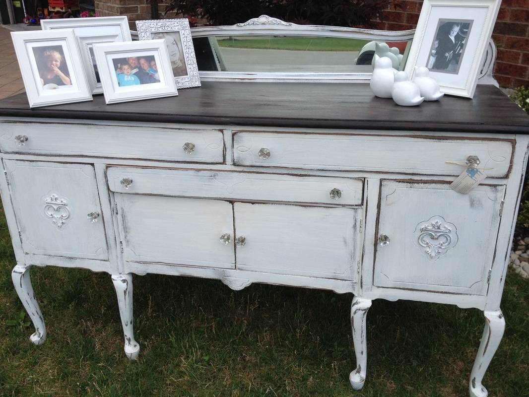 Furniture: Contemporary Version Of Distressed Sideboard Buffet Within Distressed Sideboards (View 6 of 15)