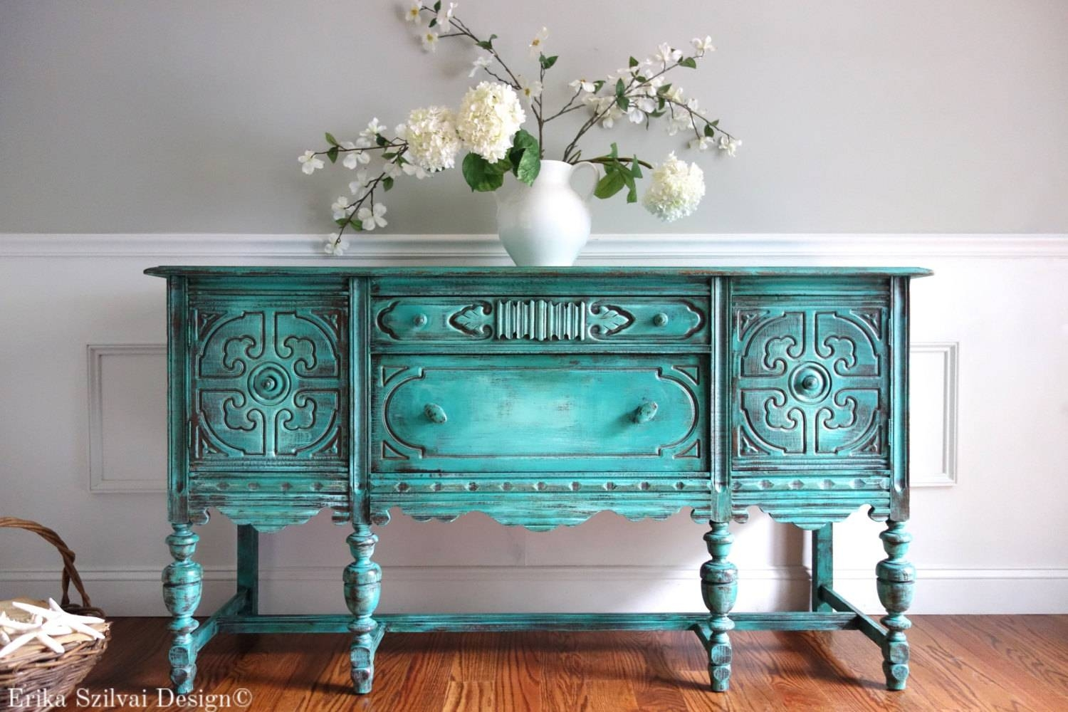 Popular Photo of Distressed Sideboards And Buffets