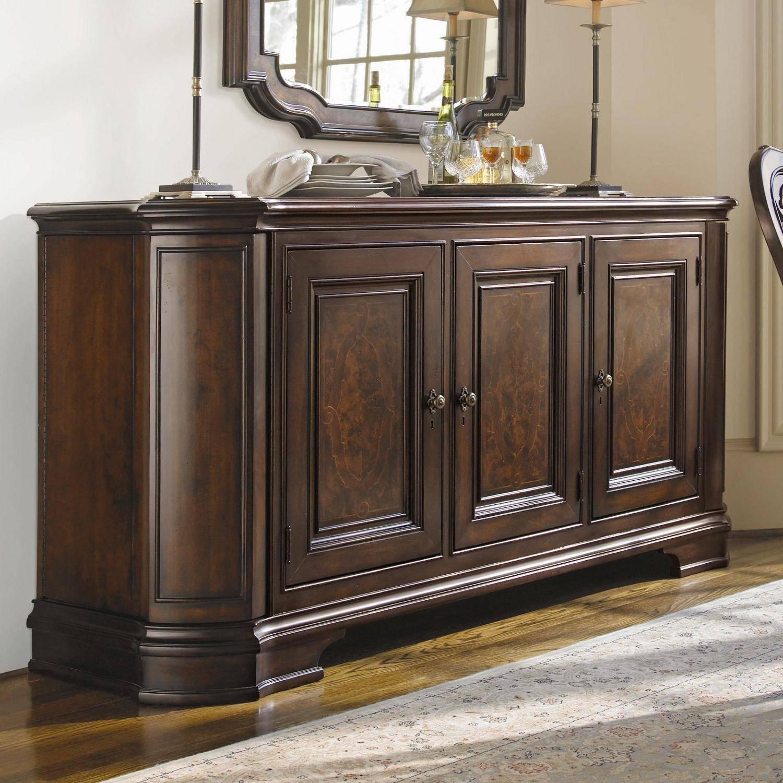 Furniture: Elegant Dark Buffet Sideboard With Cozy Dark Wood Tile With Small Dark Wood Sideboards (#5 of 15)
