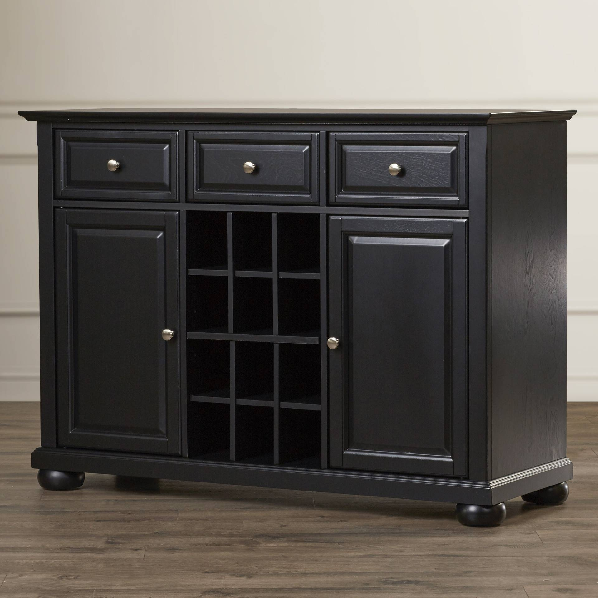 Furniture: Fashionable Stylish Buffets And Sideboards For Home For Dark Sideboards Furniture (#7 of 15)