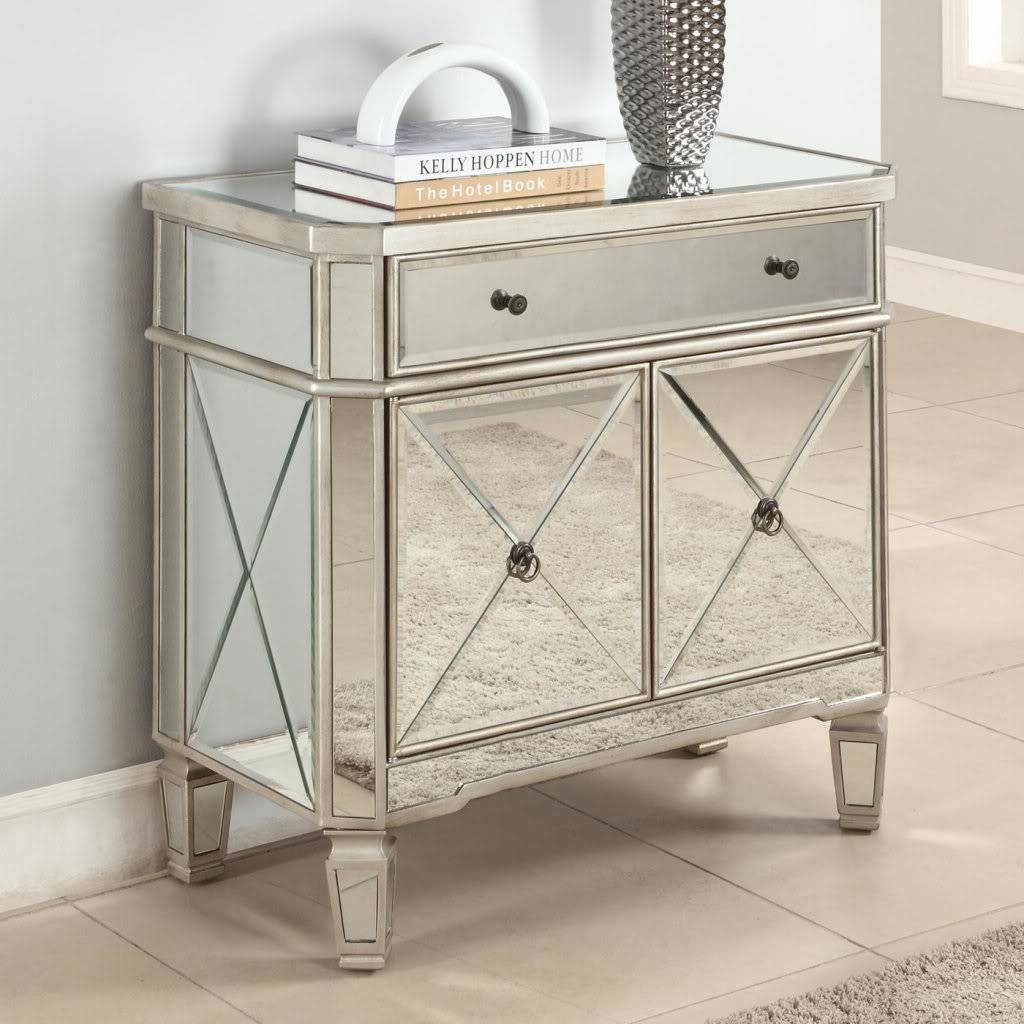 Furniture: Mirrored Buffet | Mirrored Sideboard Buffet | Dining Intended For Mirrored Sideboards Furniture (View 14 of 15)