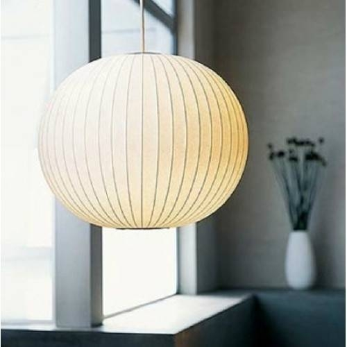 Popular Photo of Nelson Ball Pendant Lamps