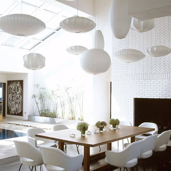 George Nelson® – Ball Suspension Bubble Lamp Within Most Popular Nelson Ball Pendant Lamps (#12 of 15)
