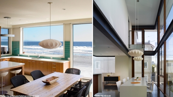 George Nelson Lamps For The Dining Room – Modernica Blog With Most Current George Nelson Saucer Pendants (View 3 of 15)