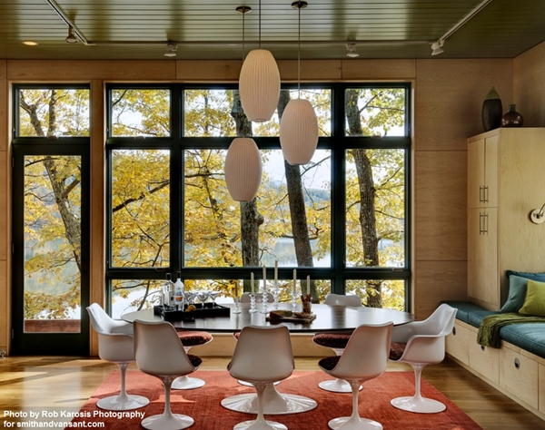 Inspiration about George Nelson Lamps For The Dining Room – Modernica Blog With Most Recent Nelson Cigar Pendants (#2 of 15)