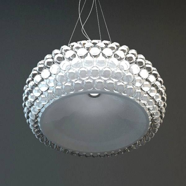 Inspiration about Glass Bead Pendant Light With 3D Model Hanging Fixture Cgtrader Inside Best And Newest Glass Bead Pendant Lights (#4 of 15)