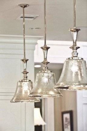 Glass Kitchen Pendant Lights – Foter For Most Recently Released Bell Pendant Lights (#10 of 15)