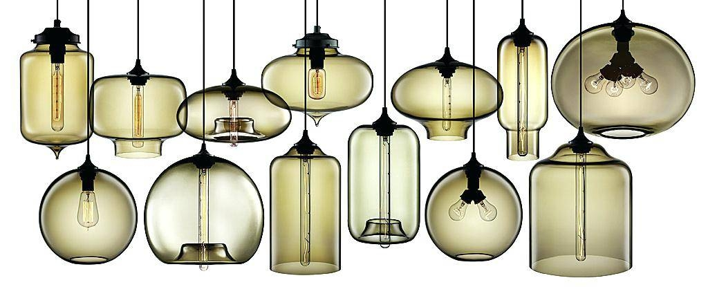 Inspiration about Glass Lights Pendants – Runsafe Within 2018 Modern Glass Pendants (#2 of 15)