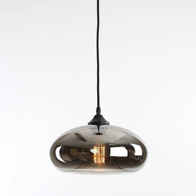 Inspiration about Glass Pendant Light – Massagroup.co In Best And Newest Smoke Pendant Lights (#10 of 15)