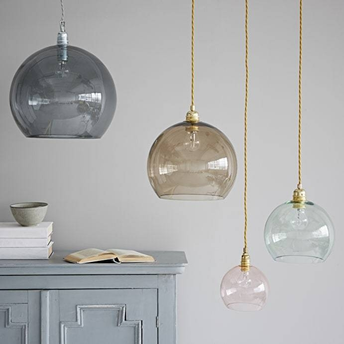 Inspiration about Glass Pendant Lights With Latest Coloured Pendant Lights (#7 of 15)