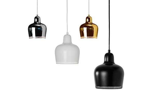 Inspiration about Golden Bell (A330S), Hanging Lampalvar Aalto / Artek Pertaining To Newest Alvar Aalto Pendants (#2 of 15)
