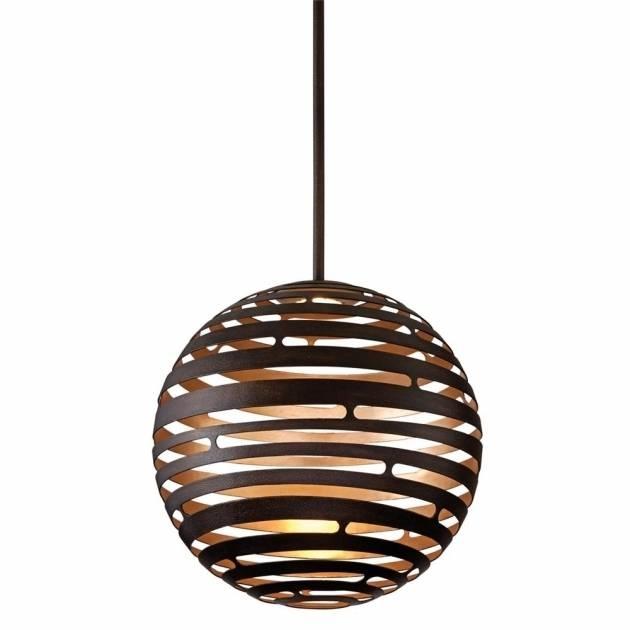 Gorgeous Corbett Lighting Ve 42 Vertigo 18 Inch Wide 2 Light Large Inside 2017 Vertigo Large Pendant Lights (#4 of 15)