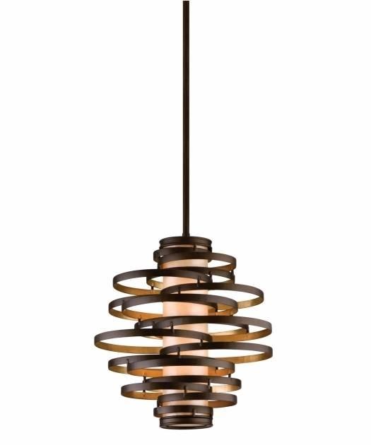 Inspiration about Gorgeous Corbett Lighting Welivv Corbett Vertigo Small Pendant In Newest Vertigo Large Pendant Lights (#3 of 15)