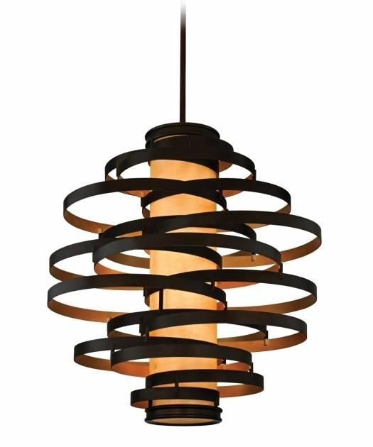 Inspiration about Gorgeous Corbett Lighting Welivv Corbett Vertigo Small Pendant Throughout Newest Vertigo Large Pendant Lights (#1 of 15)