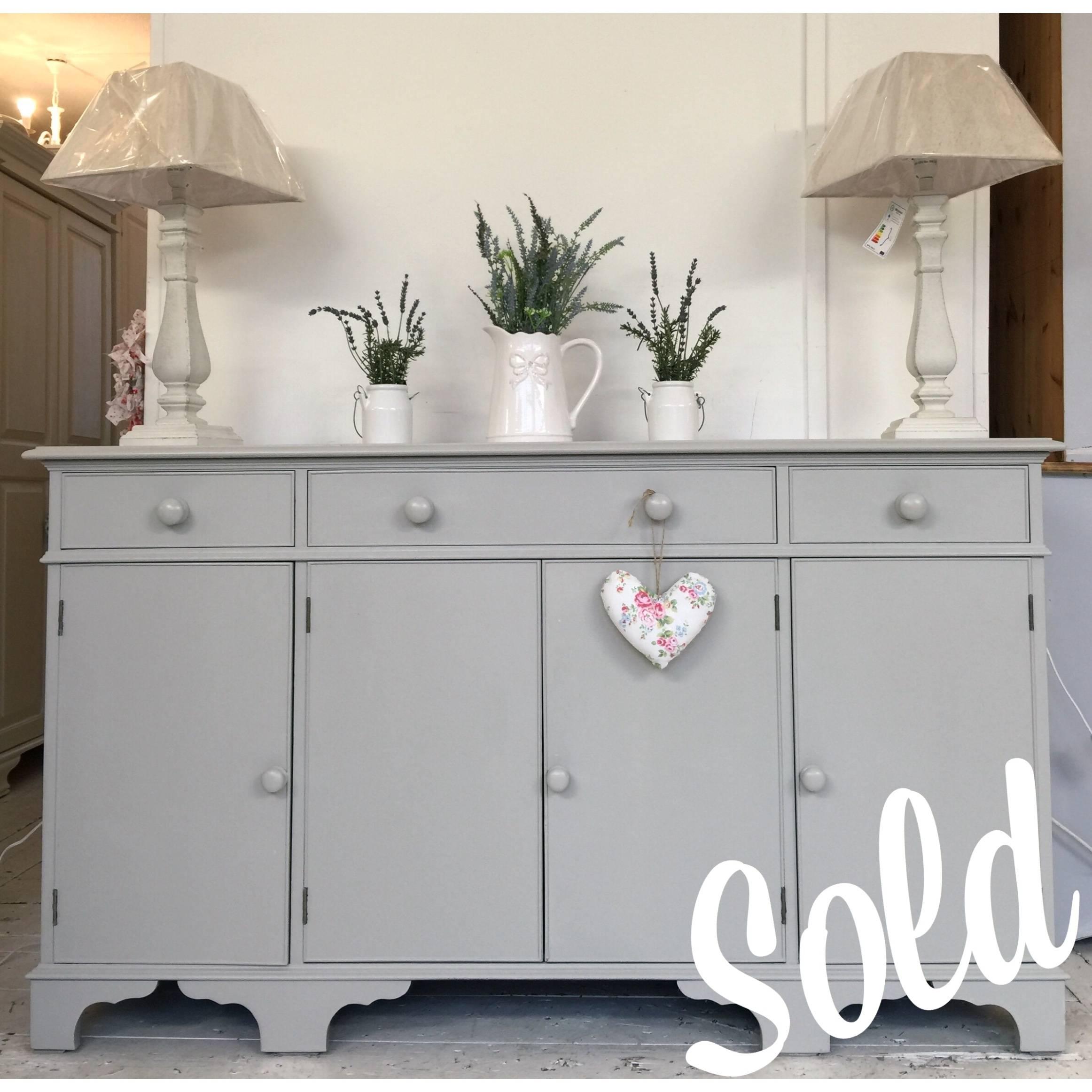 Grey Painted Sideboard – Home Sweet Homehome Sweet Home With Grey Painted Sideboards (View 2 of 15)