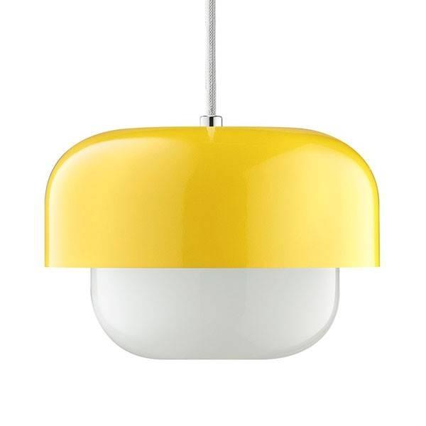 Haipot Pendant Light – Yellow Retro Designer Pendant Lamp In Most Up To Date Yellow Pendant Lights (#6 of 15)