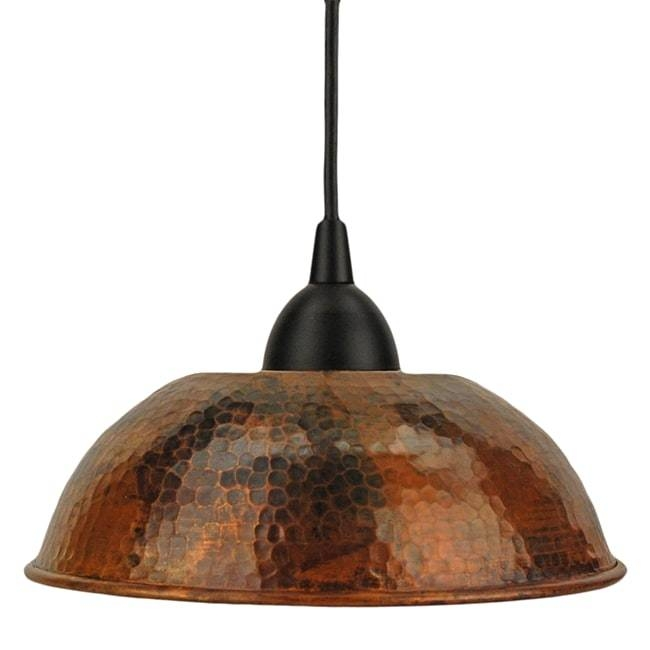 Hammered Copper Pendant Lights With Premier Products Handmade 8 5 In Most Recently Released 5 Inch Pendant Lights (View 6 of 15)