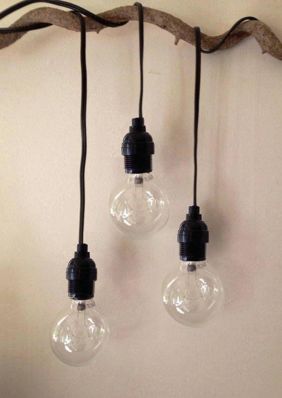 Hanging Drop Pendant Light Plug Cord Kit Home Depot Too Short For Plug In Pendant Light Kits (#6 of 15)